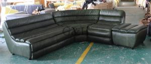 Top Genuine Leather Sectional Sofa pictures & photos