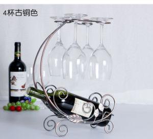 Wine Accessories Metal Wooden Wine Rack pictures & photos