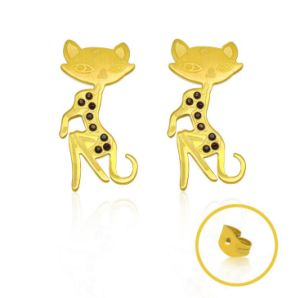 Women Stud Earrings 18k Rose Gold Titanium Steel pictures & photos