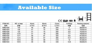 Hot 3.2m Aluminum Telescopic Ladder (KME1032) pictures & photos