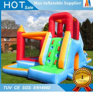 Home Garden Toy Inflatable Moonwalk House with Slide and Climbing pictures & photos