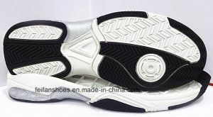 Newest Style Shock Absorption Non-Slip Sport Shoes TPR Outsole (NL1230-6) pictures & photos