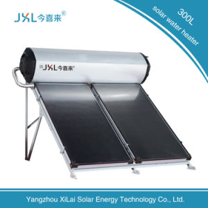 High Quality Flat Solar Panel Water Heater 300L pictures & photos