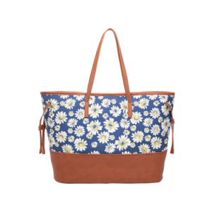 Spring Leisure Canvas Floral Shoulder Bag for Women (MBNO042121) pictures & photos