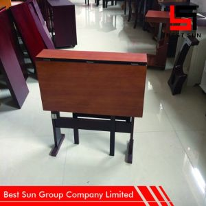 Space Saving Easy Foldable Wooden Table pictures & photos