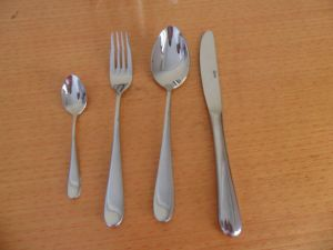 Stainless Steel Gold Chrome Cutlery pictures & photos
