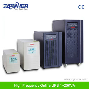 Double Conversion UPS/Power Supply/UPS Backup System/ High Frequency Online UPS/Home UPS 1-10kVA pictures & photos