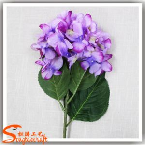 2016 Hot Sale Artificial Flowers Hydrangea for Wedding Decoration pictures & photos