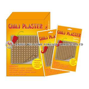 Capsicum Plaster for Muscle Damage/Recovery pictures & photos