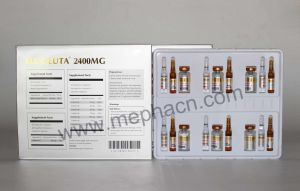 Rex Brand 2400mg Glutathione for Injection for Skin Whitening pictures & photos