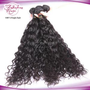 8A Cheap Raw Human Hair Cheap Virgin Mongolian Natural Wave Hair pictures & photos