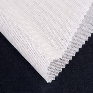 Bi-Stretch Woven Fusible Uniform Suits Brushing Interfacing Fabric Interlining pictures & photos