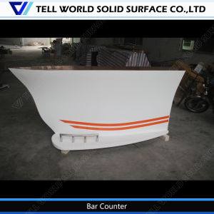 High Glossy Acrylic Illuminated Bar for Sale LED Commercial Bar Counters Design pictures & photos
