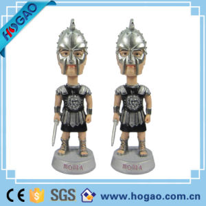 Custom Make Super Hero Bobblehead, Customized Polyresin Material Bobblehead China Maker pictures & photos
