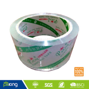 Water Based Glue BOPP Crystal Clear Packing Tape for Carton Sealing pictures & photos