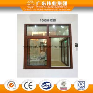 Is9001 Aluminium Alloy Glass Door in Grey Color pictures & photos