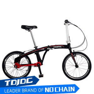 Tdjdc 16/ 20 Inch Chainless Folding Bicycle Folding Electric Bicycle Cheap K-Rock Small Wheel Folding Bike pictures & photos