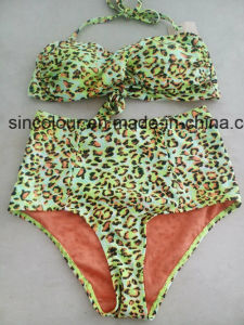 80%Nylon 20%Spandex All Over Print of Ladies Bikini Set pictures & photos