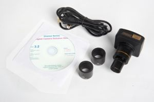HD CCD Sensor 8.0MP Digital Microscopes Camera Eyepiece Camera C Mount Microscope Camera pictures & photos