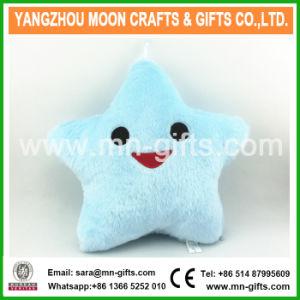 Christmas Decorative Home Sofa Party Decor Toys Gift Plush Colorful Star Plush LED Cushion pictures & photos