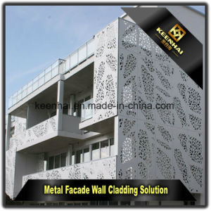 Architectural Peforated Aluminum Sheet Curtain Wall Building Panels for Decoration pictures & photos