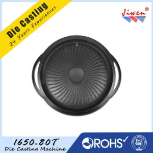 Custom Made Aluminum Die Casting Non-Stick Painting for Grill Pan pictures & photos