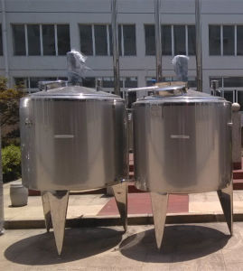 Storage Tank Milk Tank Mixing Water Tank Fermentation Fermentator Tank pictures & photos