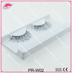 Top Quality Human Hair Eyelash Soft Lashes Wholesale Factory in Qingdao pictures & photos