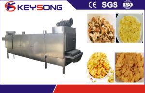 Stainless Steel Puff Snacks Food Mesh Belt Dryer pictures & photos