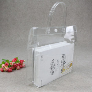 durable clear fashion lady plastic cosmetic bag(PVC bag) pictures & photos