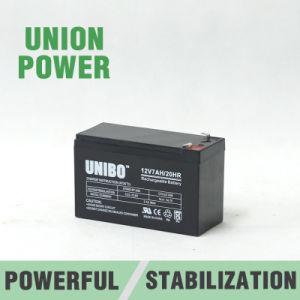 AGM Lead Acid Battery 12-7 UPS Rechargeable SLA 12V7ah pictures & photos