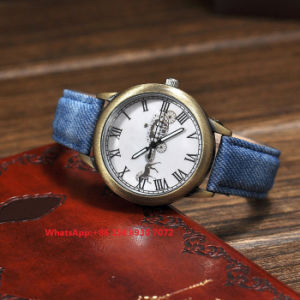 Brilliant Great Quartz Watch with Genuine Leather Strap Fs663 pictures & photos