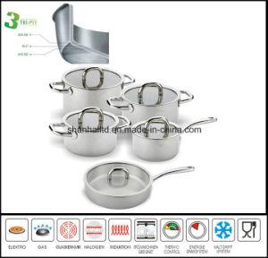 10PCS Tri-Ply All Clad Cookware Set pictures & photos