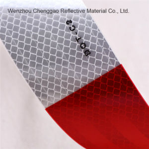 Red and White DOT-C2 Clear Reflective Tape for Traffic Sign (C5700-B(D)) pictures & photos