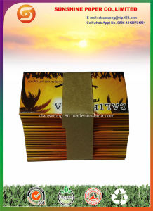 Plain Cigarette Paper with 69*39mm Size with Gum pictures & photos