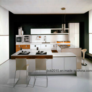 2017 Bck Modern High Gloss Kitchen Furniture and Kitchen Cabinet (BCK-K028) pictures & photos