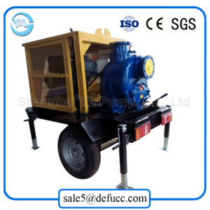 Large Capacity Diesel Engine Priming Centrifugal Pump with Silent-Box pictures & photos