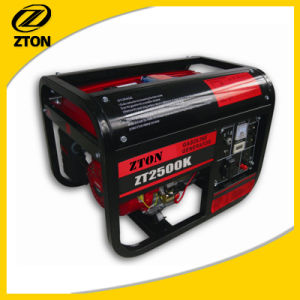Portable Gasoline Generator 2.0kw Small Silent Generator pictures & photos