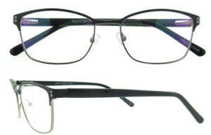 Zhicheng Optical Wholesale Women Stainless Eyewear Eyeglasses Frame pictures & photos