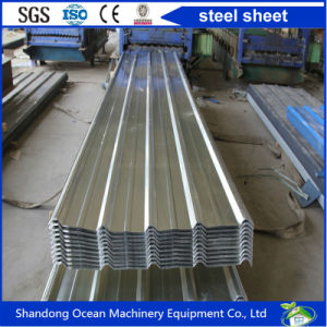 Cheap Price Various Shaped PPGI Steel Sheet Corrugated Roof on Light Steel Structure Building pictures & photos
