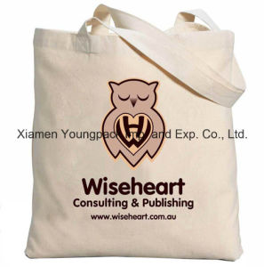 Customized Promotional Long Handle Eco Friendly Reusable 100% Organic Cotton Bag pictures & photos