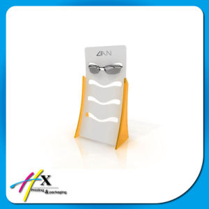 Top Selling Handmade Wood MDF Acrylic Sunglasses Showcase Eyewear Display pictures & photos