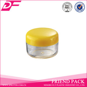 Small Capacity 5ml Plastic Cosmetic PS Jar with PP Cap pictures & photos