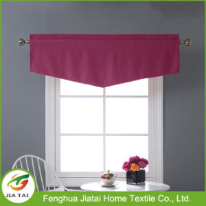 Beautiful New Design Purple Buy Tier Kitchen Curtains for Sale pictures & photos