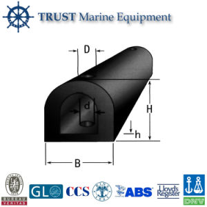 Hot Sale Marine Ship Boat Type D Rubber Fender pictures & photos
