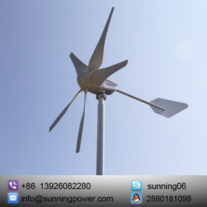Sunning 400W 12V/24V Wind Solar Power Telecom Operator Power Supply System pictures & photos