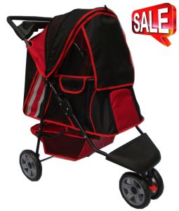 Steel Frame Oxford Fabric Pet Dog Stroller Bb-PS02 pictures & photos