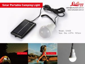 Solar Portable Camping Light-S1h25 pictures & photos