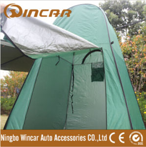 90t Polyester PA Coated Shower Tent From Wincar pictures & photos