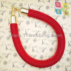 Crowd Control Economy Velvet Twistded Rope for Bank/Museum/Hotel pictures & photos